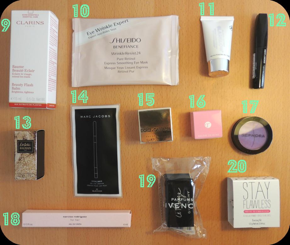Sephora box 52