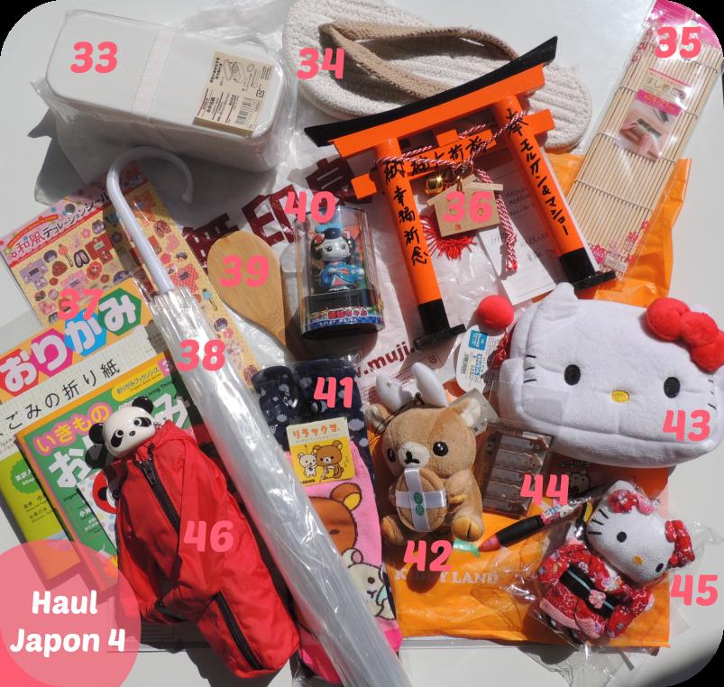 Japon Haul 4