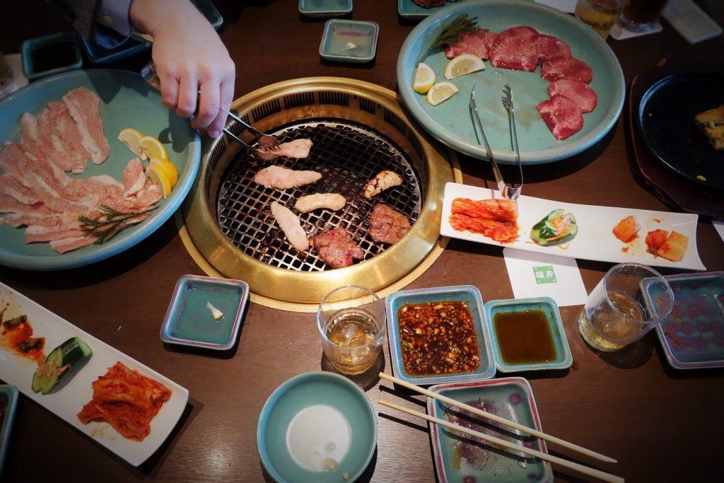 Le barbecue Japonais