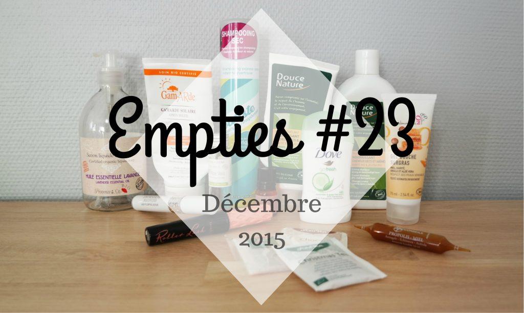 Empties #23