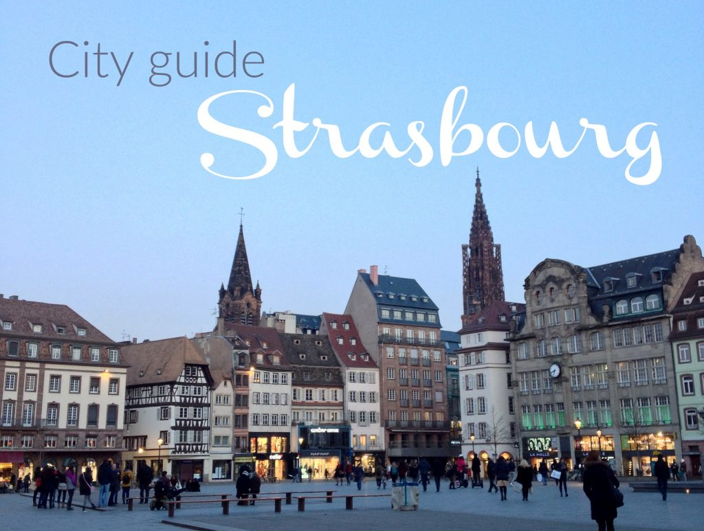 city guide strasbourg