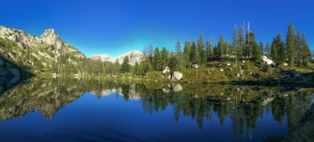 panoramique lac graveirette mercantour