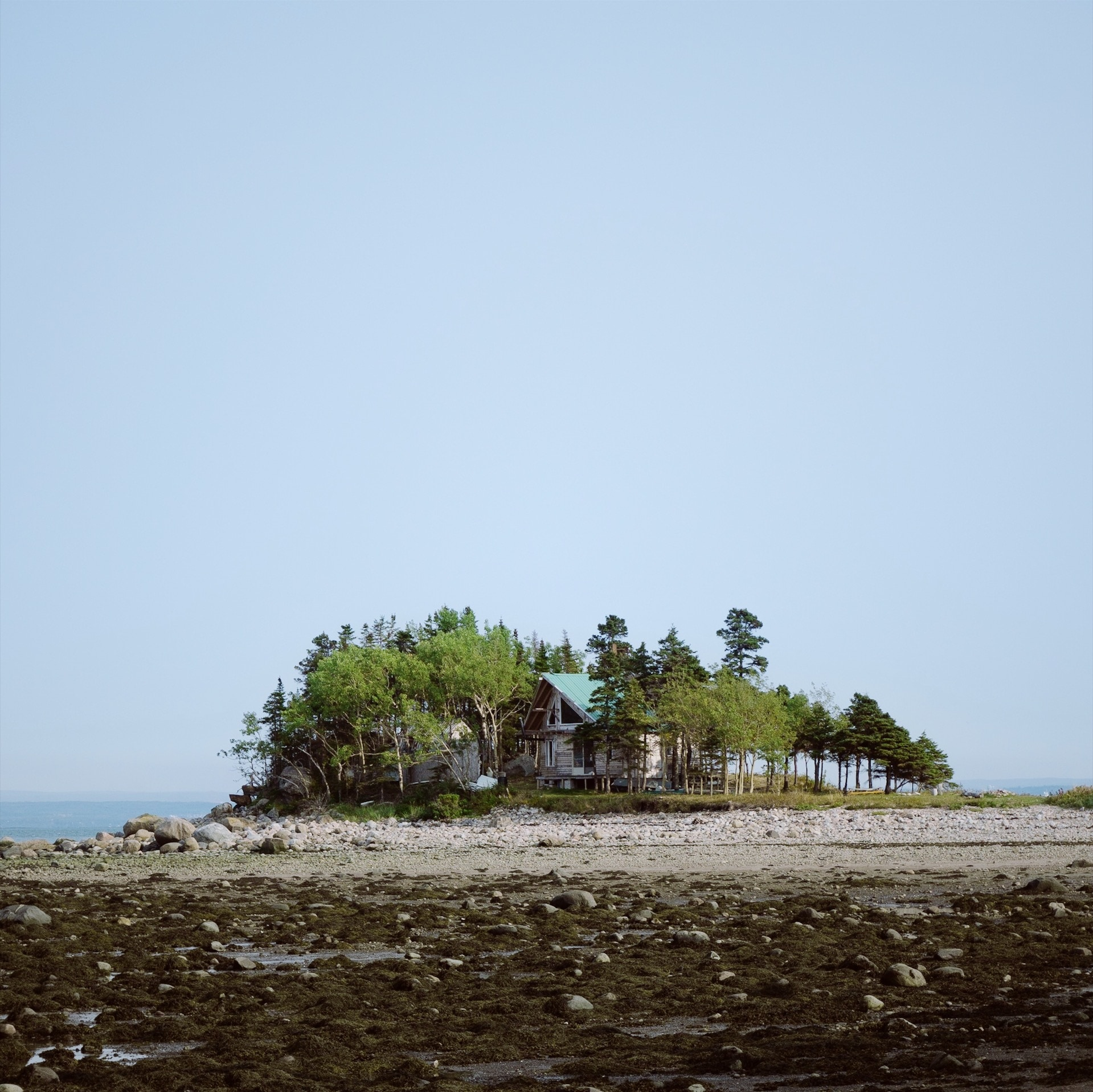 Maison isolée Québec