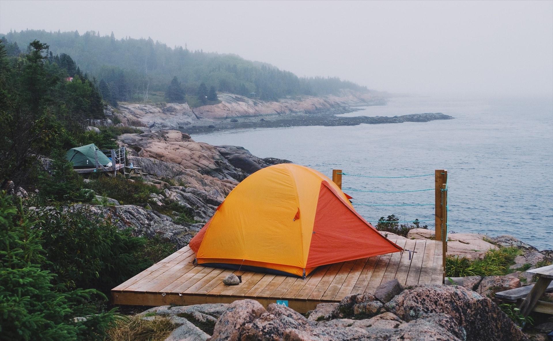 Camping mer et monde bergeronnes