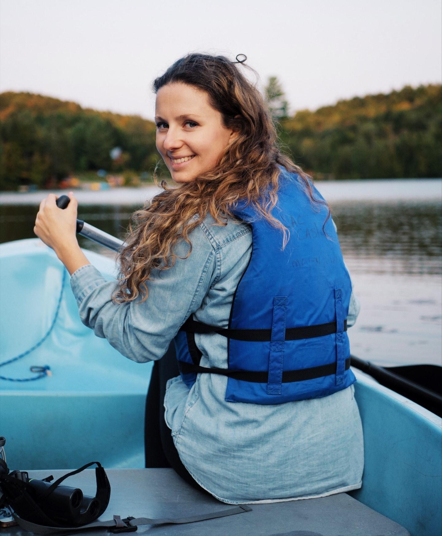 barque lac castor Quebec