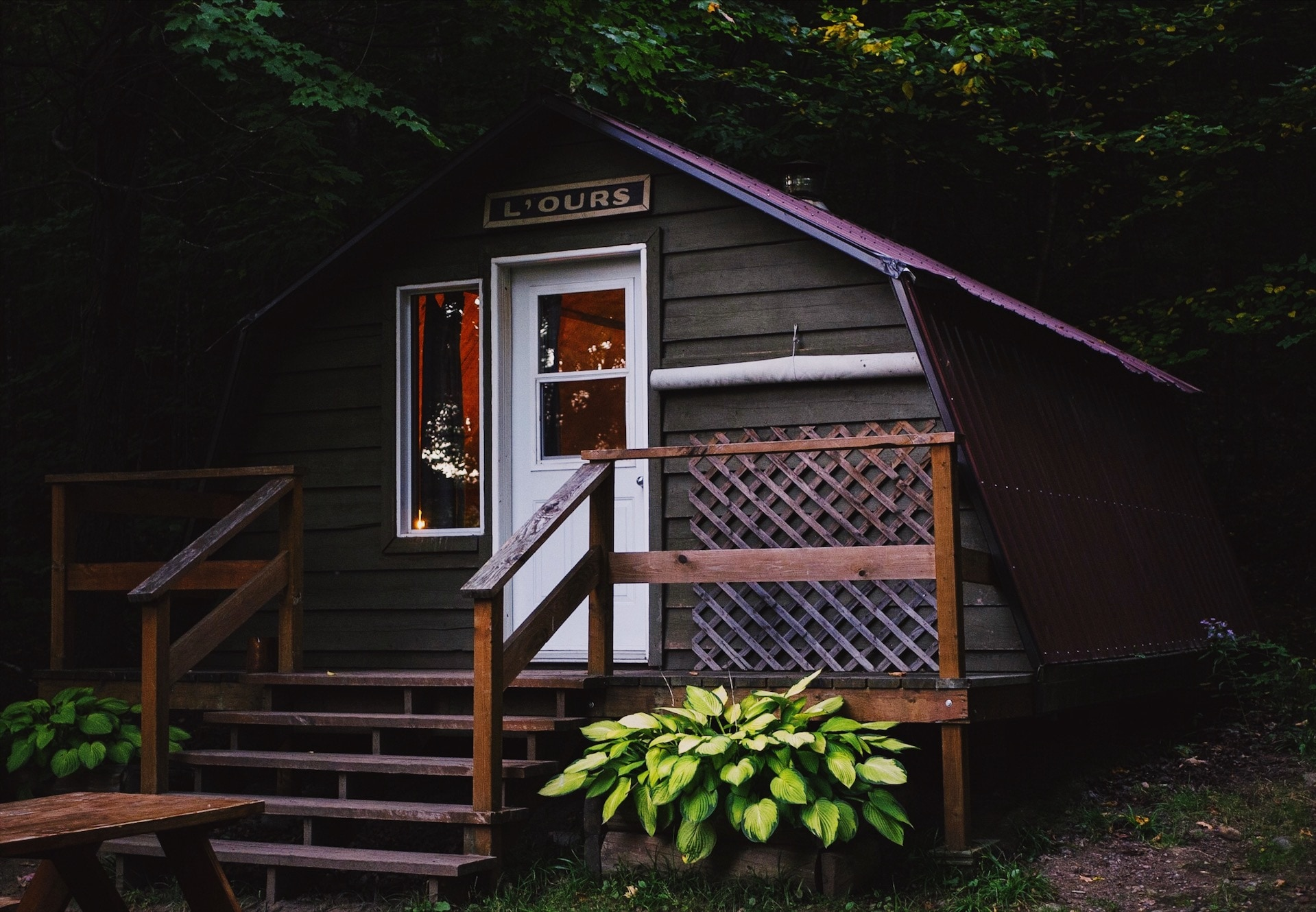 cabane au Québec